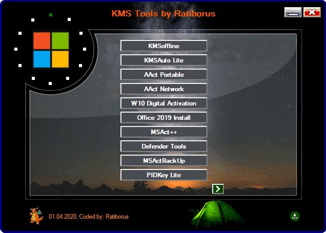 KMS Tools Portable by Ratiborus