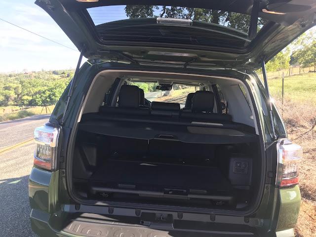 Tailgate open on 2020 Toyota 4Runner 4X4 TRD PRO