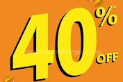 Promo Sport Station Diskon All Item 40%