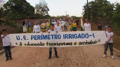 Escolas do DNOCS realizam Desfile Cívico ao Dia da Independência do Brasil