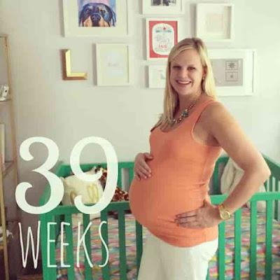 Labor signs at 39 weeks