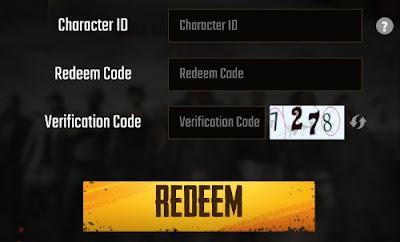 Redeem Free PUBG Mobile Codes