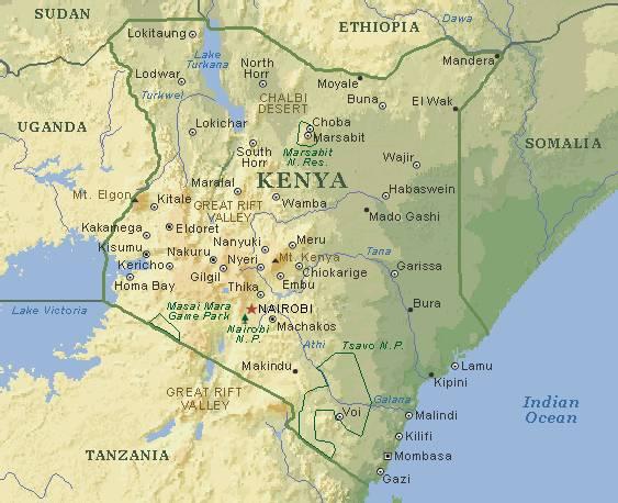 nairobi kart Engler gir murstein: Nairobi på kartet. nairobi kart