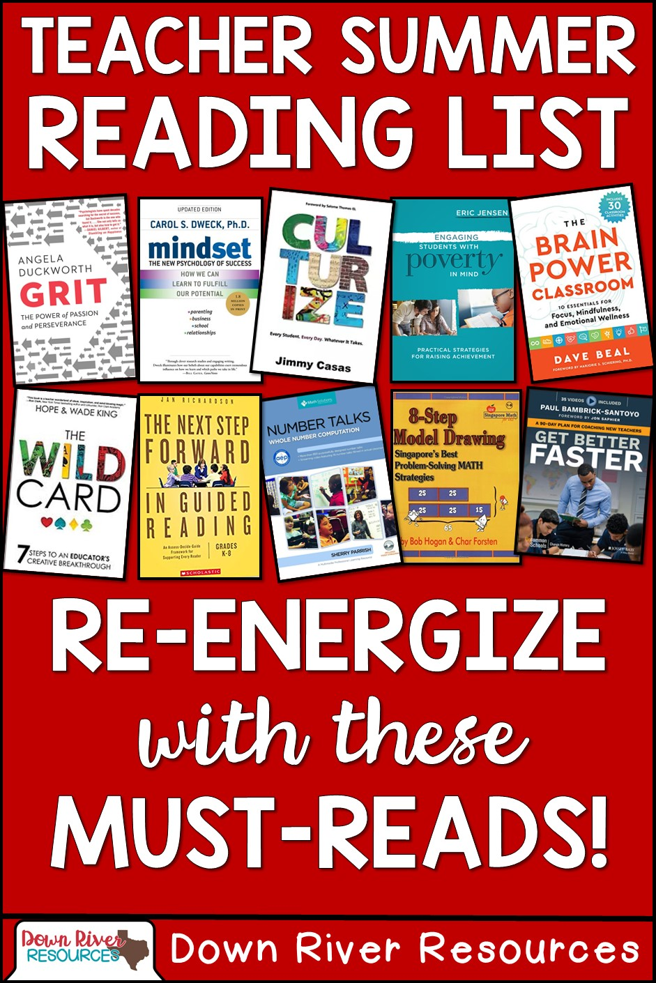 Summer Reading List For And By Teachers >> The Top 10 Books To Re Energize Teachers This Summer Down River