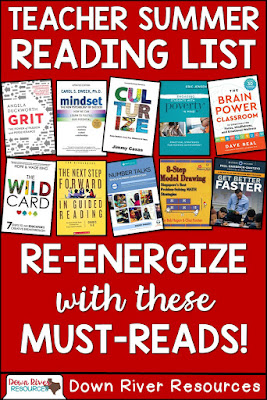 This top 10 summer reads for teachers was designed to help you deepen your professional learning and re-energize before the back to school bustle!
