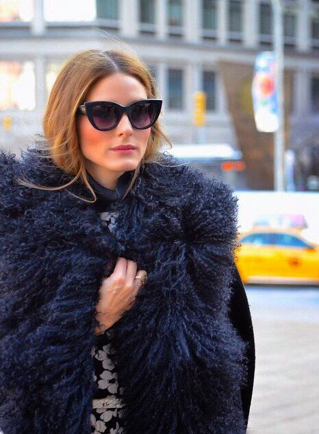 Olivia Palermo On the Streets of New York Fashion Week