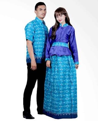 Model Gamis Batik Orang Gemuk anak muda