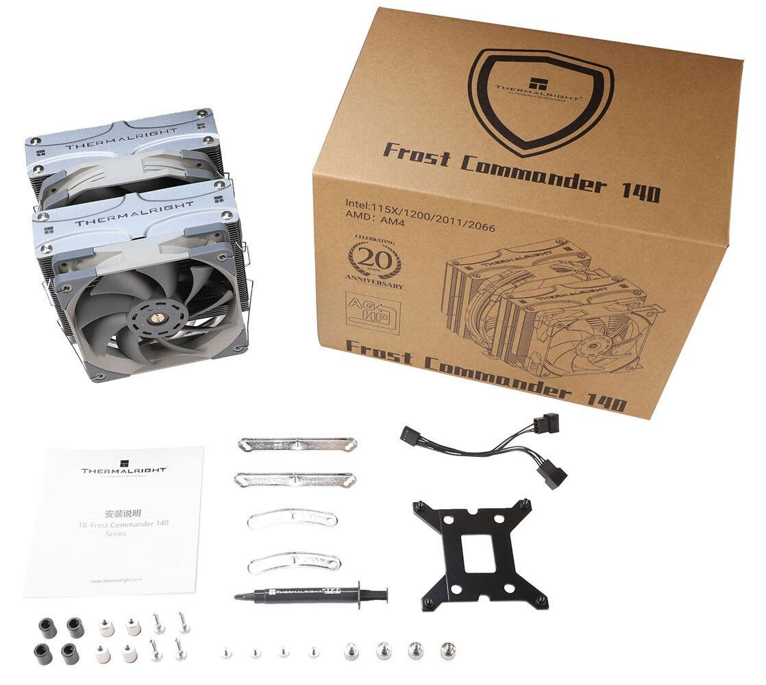 Thermalright Frost Commander 140 - CPU Soğutucu Paket İçeriği