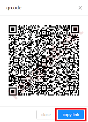 klik copy link
