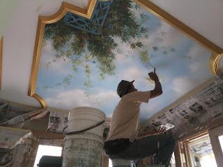 Mural on Ceiling