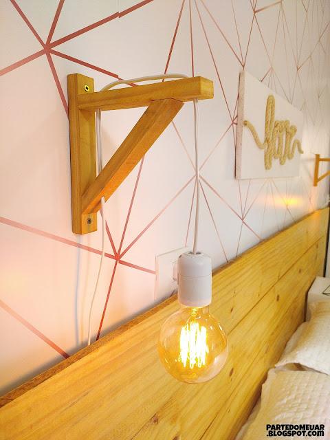 luminaria de parede