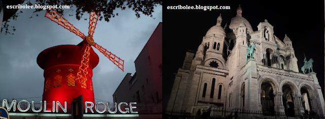 Viaje a París: Moulin Rouge y Sagrado Corazón