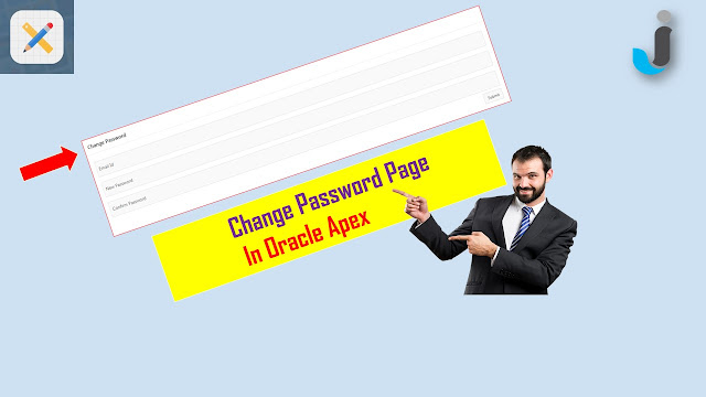 change password page in oracle apex
