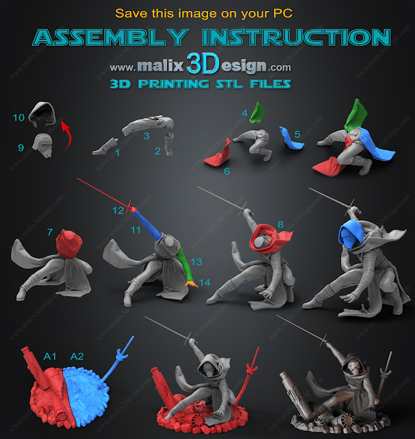 assembly instruction for stl files