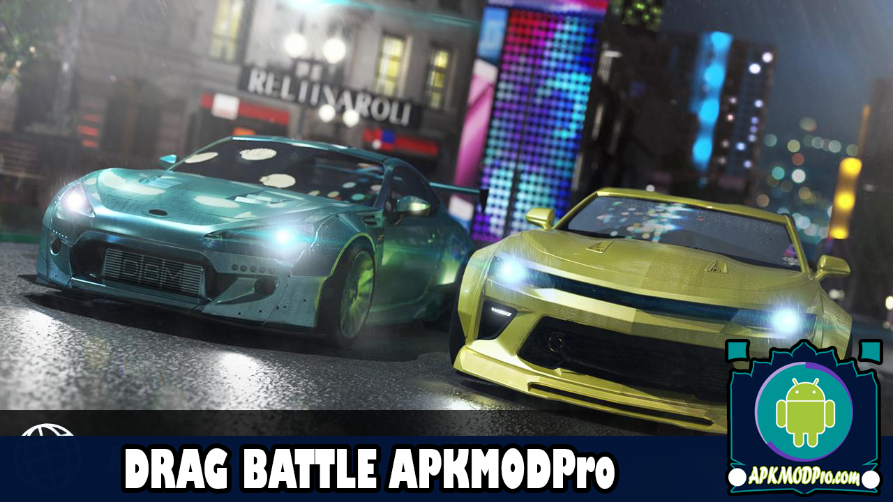 Download Drag Battle Racing MOD APK 3.25.12 [Unlimited Coins] Terbaru 2020
