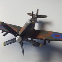 Supermarine Spitfire Model from Scrap Plastic Version 4 - Coroplast DIY - CoroplastCreations.com - photos by: HalifaxSportsPhotos.ca