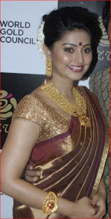 sneha in designer blouse