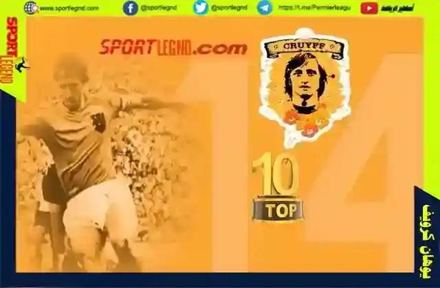 يوهان كرويف,افضل لاعب في تاريخ منتخب هولندا