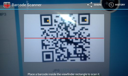 Zxing Android Barcode Library | Android Library