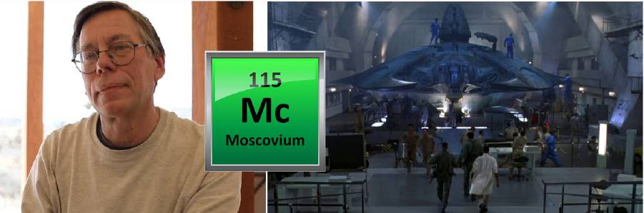 Bob Legar and discovery of element 115 by him.