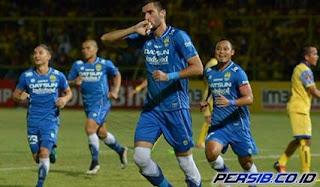 Persib Bandung Ditahan Imbang Barito Putera 1-1