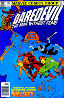 Daredevil v1 #172 kingpin marvel comic book cover art by Frank Miller