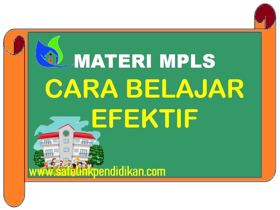 Materi MPLS Cara Belajar Efektif