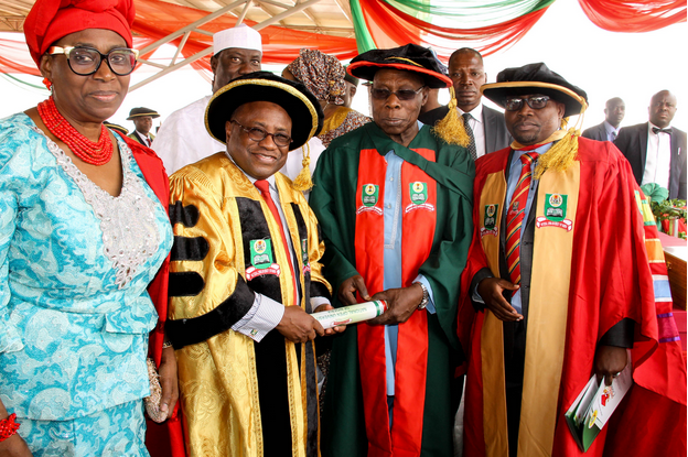 Obasanjo-graduates-with-PhD-from-National-Open-University-of-Nigeria