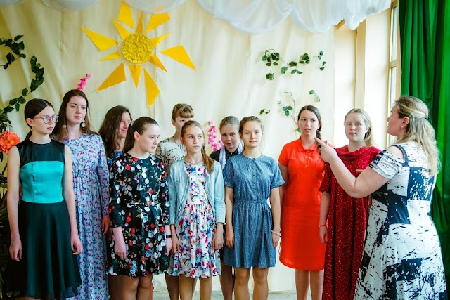 Отчетный концерт воскресной школы за 2018-2019 учебный год
