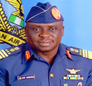 the former Chief of Air Staff, Air Marshal Adesola Amosu