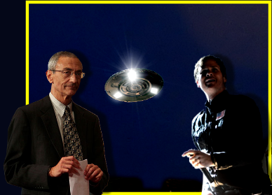 UFO Project with Clinton Chair John Podesta & Rock Star Tom Delonge?