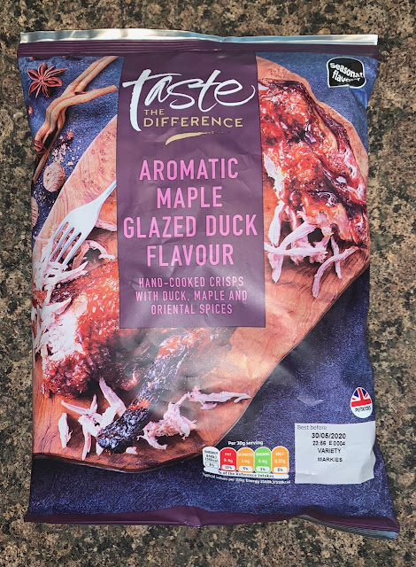Aromatic Maple Glazed Duck Flavour Crisps
