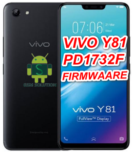Vivo Y81 PD1732F Offical Firmware Stock Rom/Flash file Download