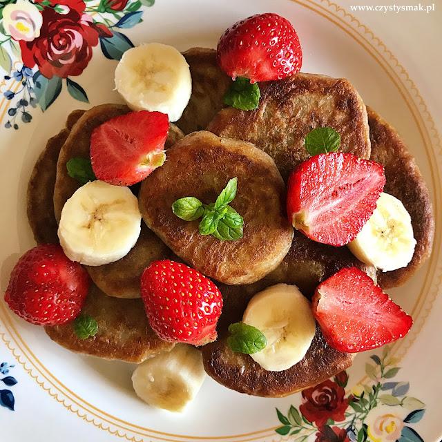 Wegańskie pancakes na zakwasie