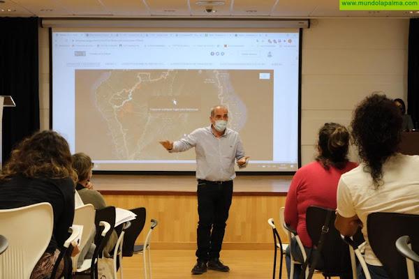 El Cabildo presenta una propuesta para salvaguardar el cultivo tradicional de la viña
