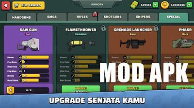 Mini Militia v5.3.4 Mod Apk (Unlimited Money, Ammo, Nitro)