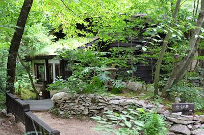 安曇野穂高の森カフェ たび茶