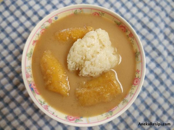 resipi pengat pisang sedap yang ringkas dan cepat dimasak