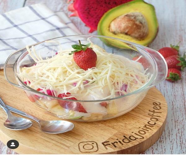 Cara Membuat  Salad Buah Yang Enak Mudah dan Praktis Ala Rumahan