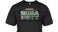 Star Wars The Book Of boba Fett Logo T Shirt