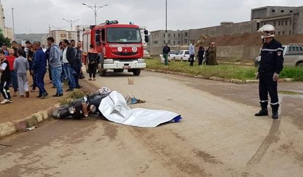 مصرع سائق دراجة نارية في حادث مرور بالشلف