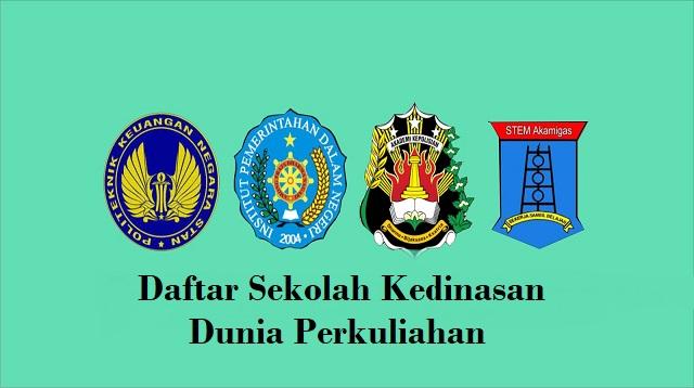 Daftar Sekolah Kedinasan
