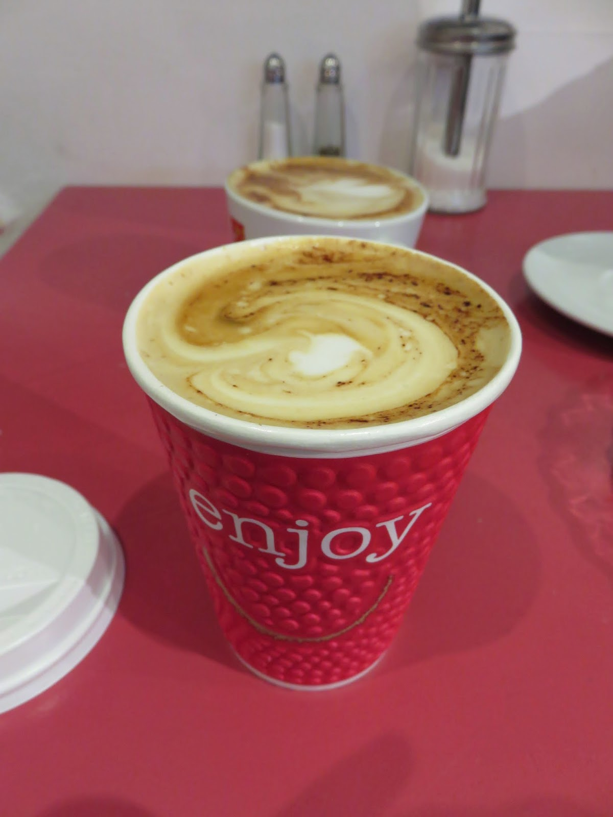 Cappuccino at Sweet Sicily in Dublin