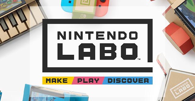 Nintendo Labo (Switch) vendeu somente 30% de seu estoque em sua semana de estreia no Japão