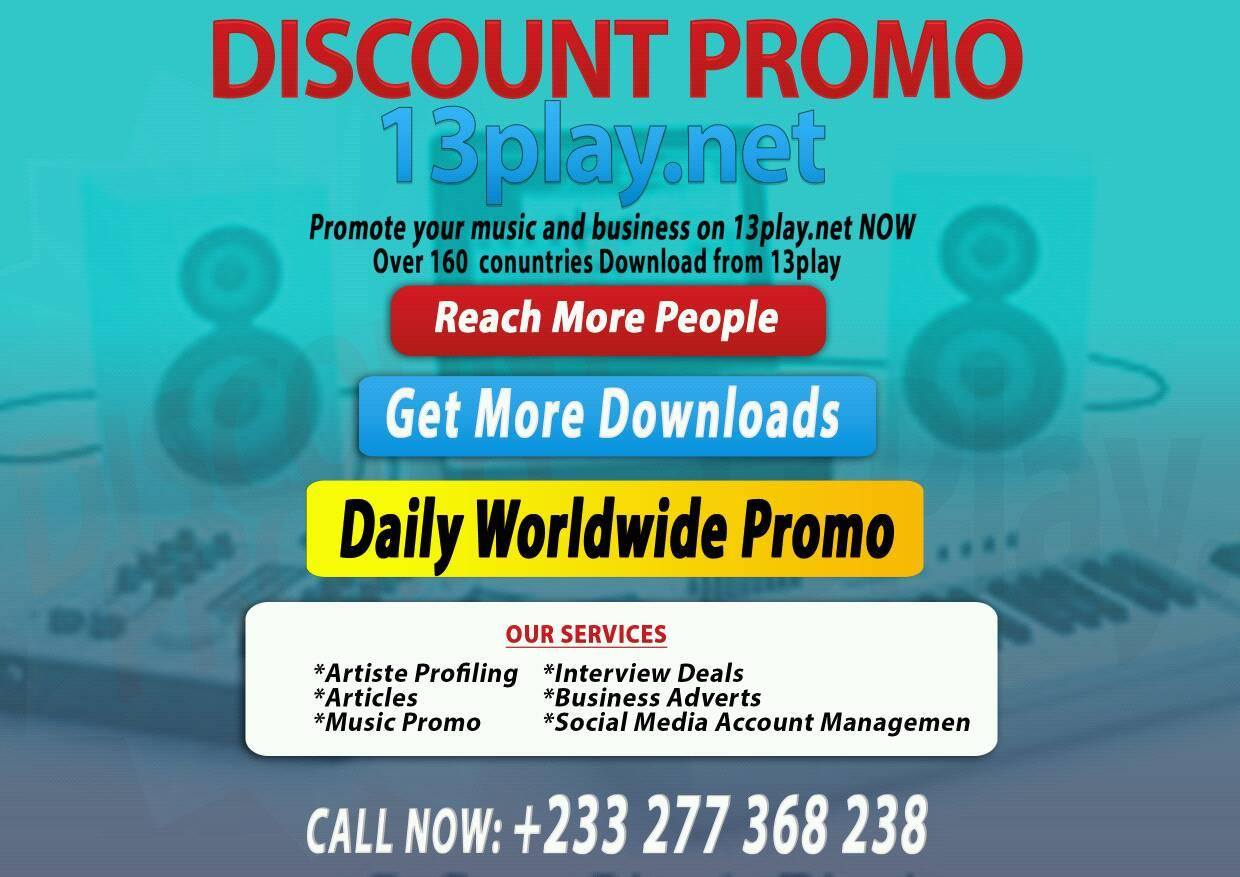 13play Gives You A Discount Promo On All Your Brand Materials: Music