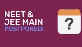 NEET JEE Exam Postponed again