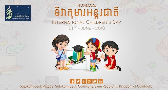 International Children Day's 01 st - JUNE - 2018 free photos by vectorkh.com