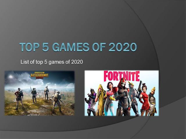 Top 5 games 2020