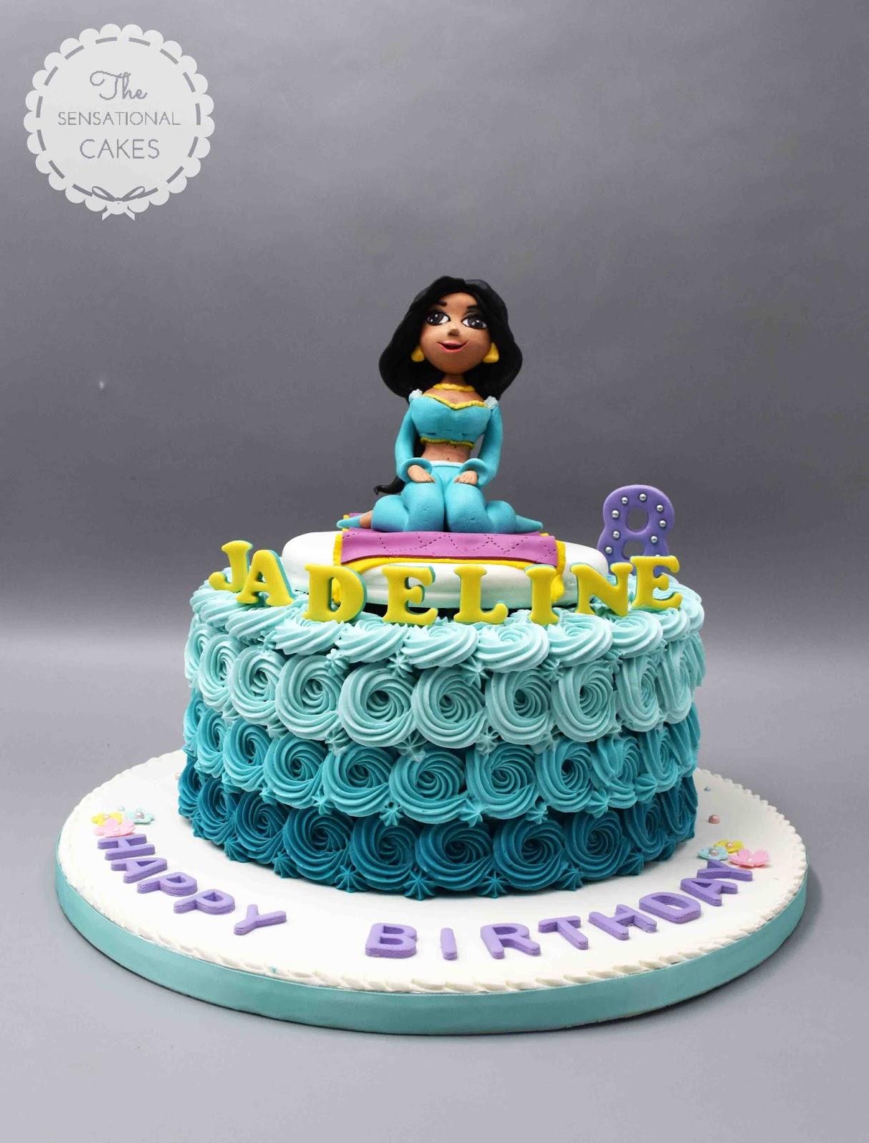 The Sensational Cakes Princess Jasmine Inspired Theme Cake Singapore