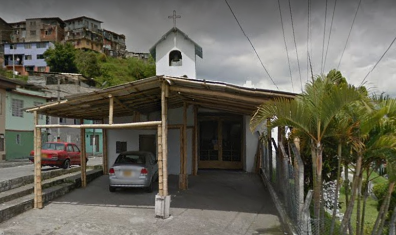 iglesia del barrio NEVADO en manizales